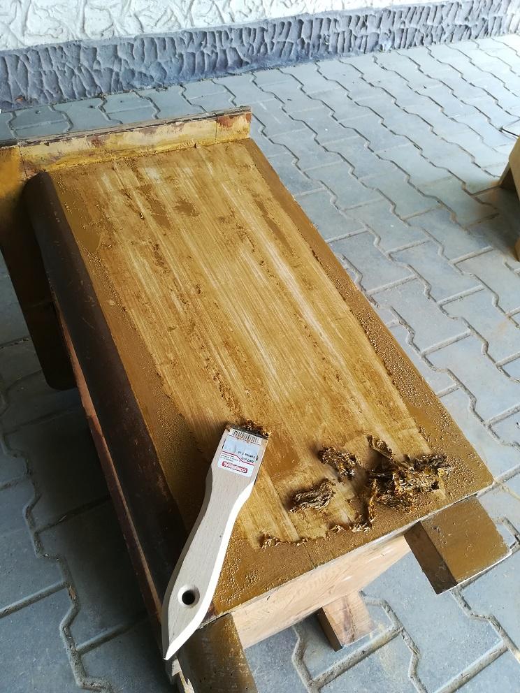 Renowacja starych mebli po dziadku
