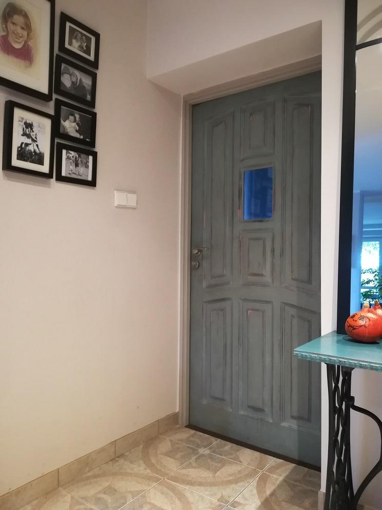 jak przemalować drzwi