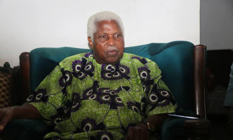 Image result for Alex Ekwueme flown abroad for treatment of chest infection