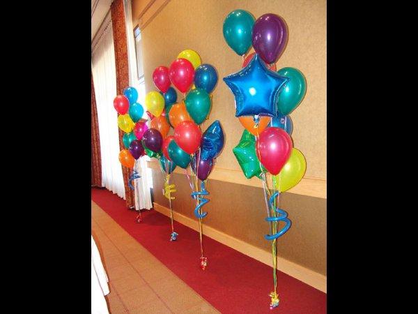 Decoracin de globos con helio  Alabo todo para fiestas y eventos