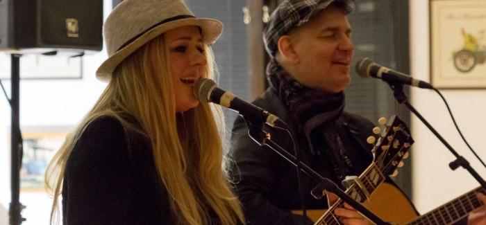 Myndir: Konsert við Lenu Anderssen