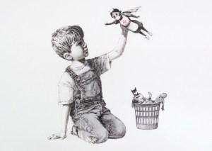 """Game Changer"" Banksy, 2020"