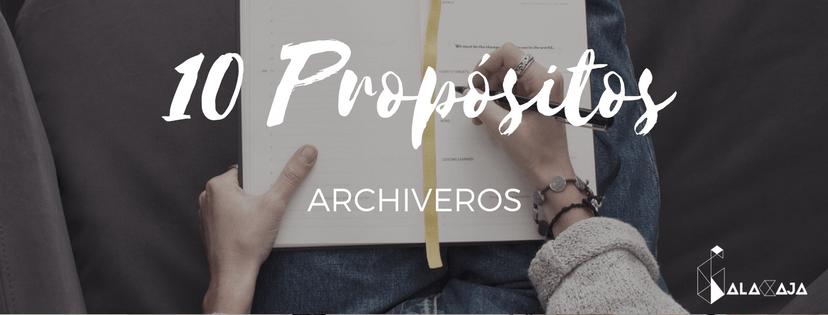 propósitos archiveros