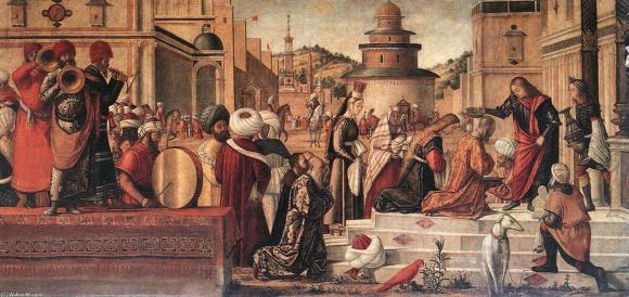 Vittore-Carpaccio-The-Baptism-of-the-Selenites-2-