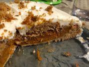 Pie-cake splendour - a bit sloppy but very tasty!