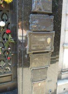 Evita sírja Duarte kripta Buenos Aires, temetés biztosítás