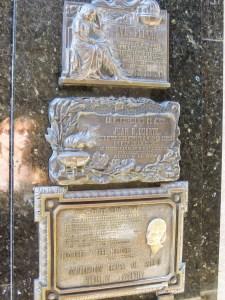 Evita sírja Duarte kripta Buenos Aires temetés biztosítás
