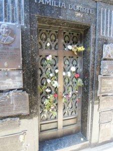 Evita sírja Duarte kripta Buenos Aires,nyugalom, temetés biztosítás