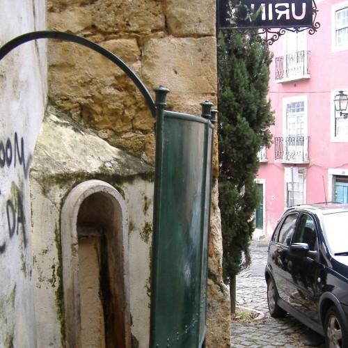 Lisszabon nyílvános vizelde