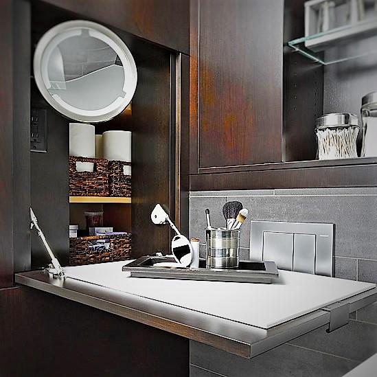 Kicsi fürdőszoba kreatív ötletekkel tágasabbá tehető