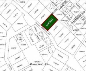 Eladó 1633 nm építési telek -Etyek- Zöld Domb lakópark