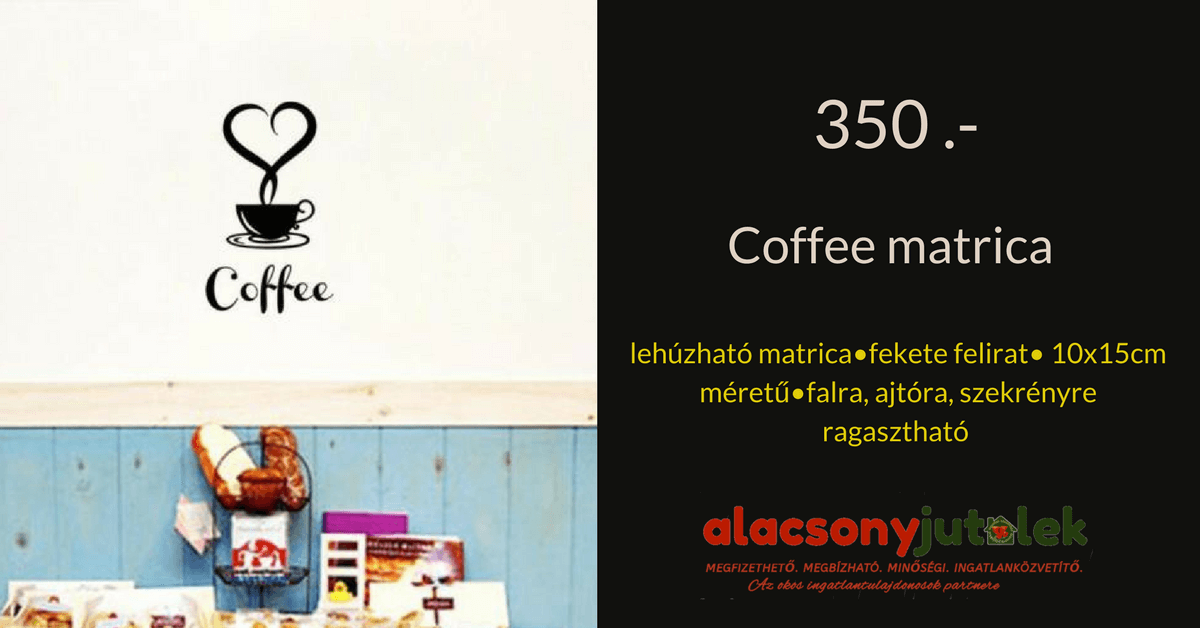 Coffee matrica -350ft