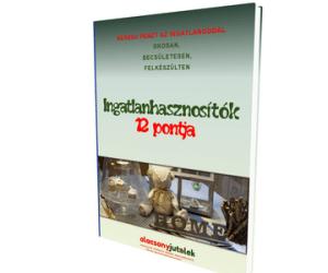 Ajándék e-book: Ingatlanhasznosítók 12 pontja