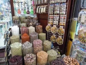 Dubai fűszerpiac látnivaló