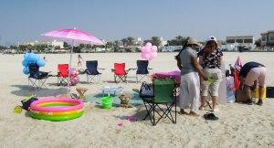 Dubai szülinap gyerekbuli tengerpart