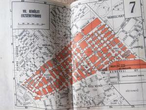 Budapest 21 térkép atlasz 1942