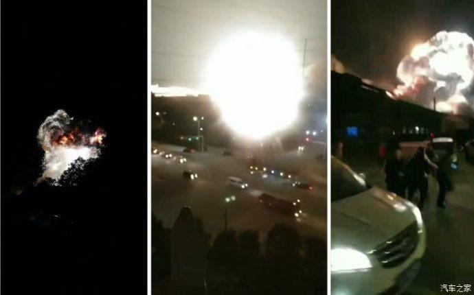 真🌸保守速報!【動画あり】 中国最大級のEVバッテリー工場が小型核爆弾並みの爆発