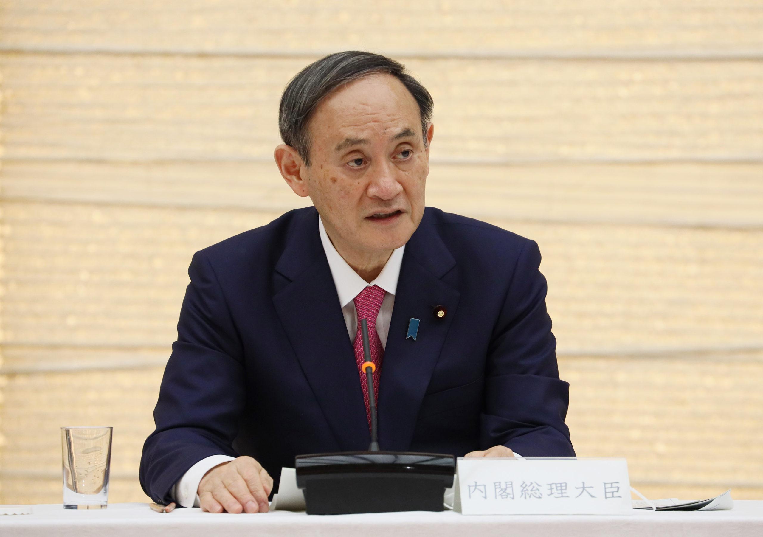 菅総理は福島県沖を震源とする地震についての会見を行いました