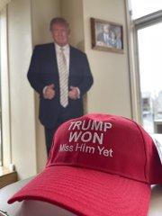 真正保守特報!我那覇真子アメリカ最新レポート!面白い帽子を発見!