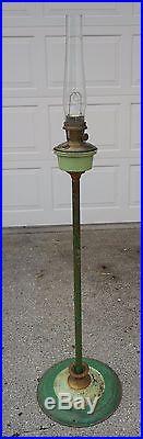ANTIQUE ALADDIN MODEL 12 KEROSENE FLOOR LAMP FROM 1928-32