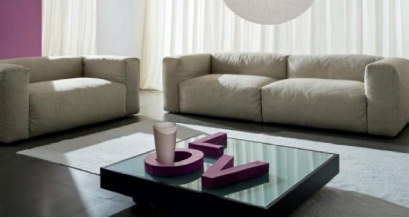 Interior Design Marbella  fluffy sofa