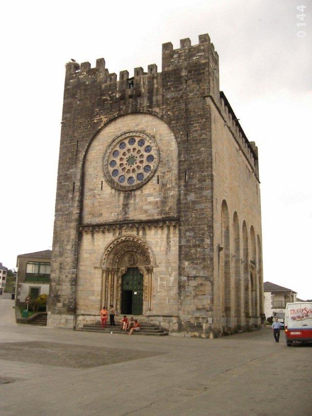 Iglesia de San Juan en Portomarín