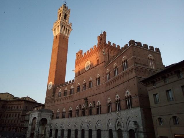 Palazzo Pubblico, piazza del Campo. Siena
