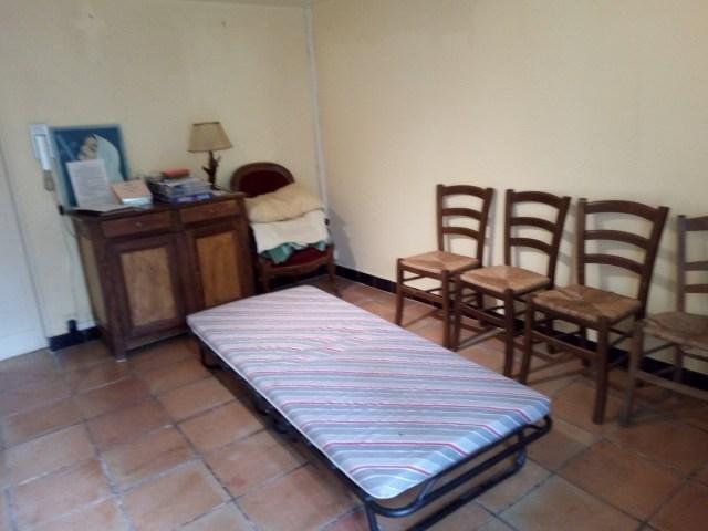 Mi habitación en el Presbiterio de Le Val