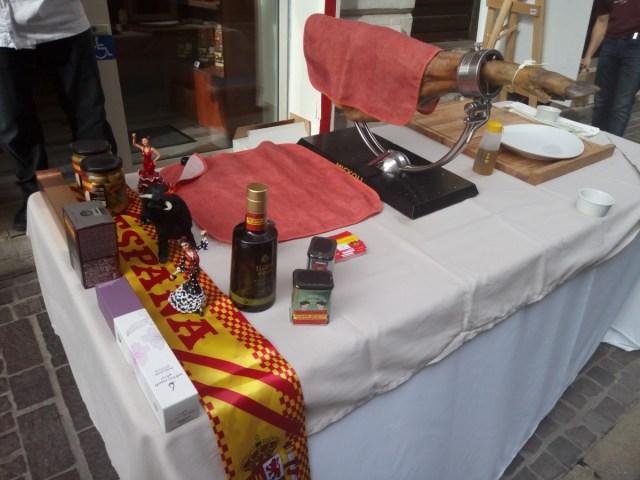 Puesto typical spanish
