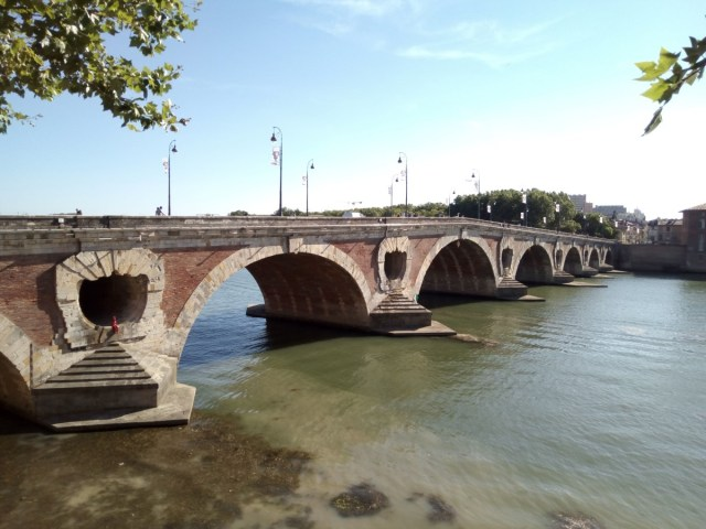 Pont Neuf, Toulouse. Puente Nuevo, Tolosa