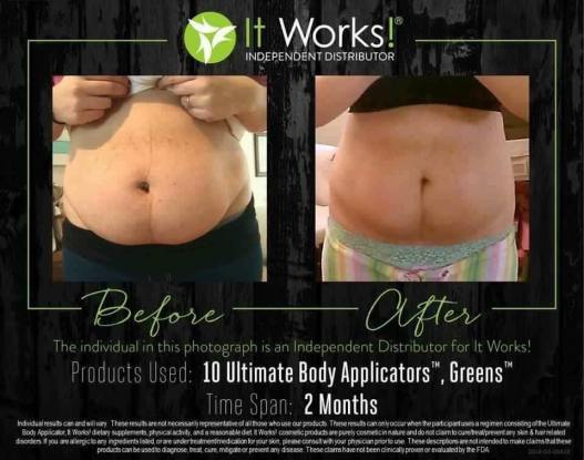 wraps & greens 2 months