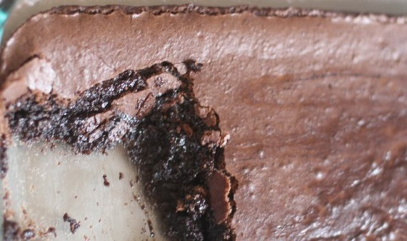 Gluten-Free Brownie Moelleux