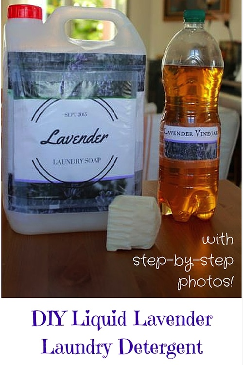 This step-by-step tutorial with photos simplifies the process. And the lavender-infused end-result is amazing!