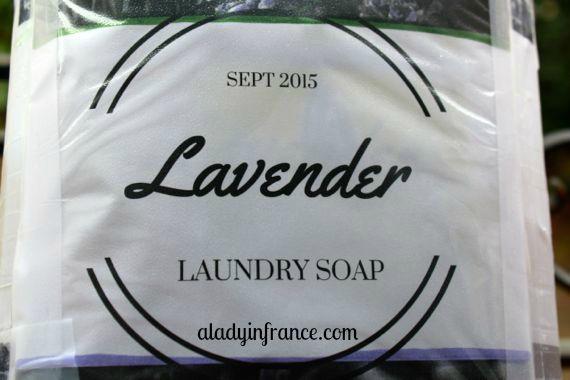 homemade liquide laundry detergent