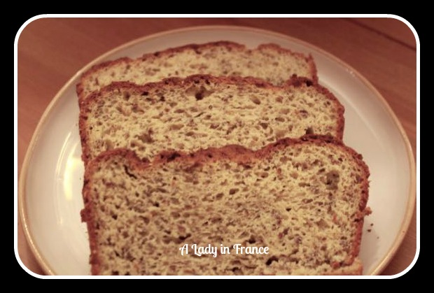 Gluten Free High Fiber Bread Recipe