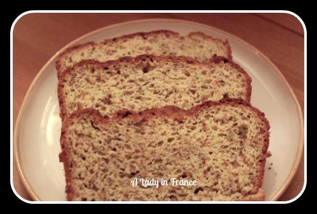 high-fibre gluten-free bread