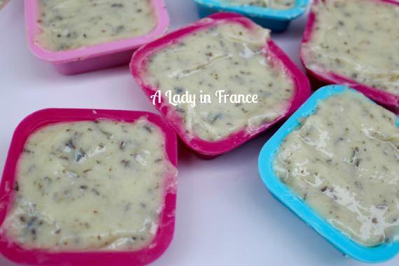 Cold Process Lavender Sugar Soap