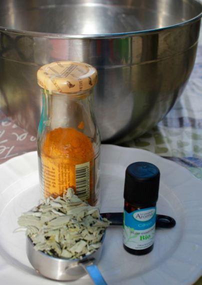 lemon-sage cold process soap