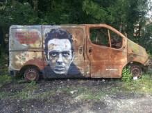 Camionnette par Jef Aérosol