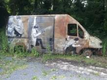 La camionnette par Levalet