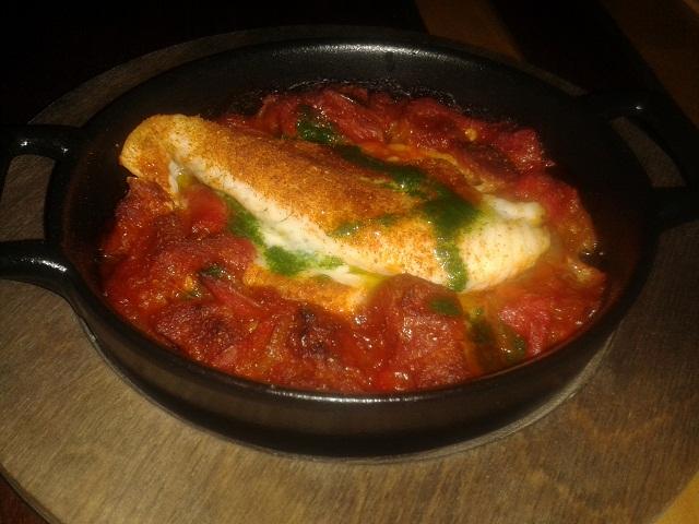 Heddon Street Kitchen spiced plaice
