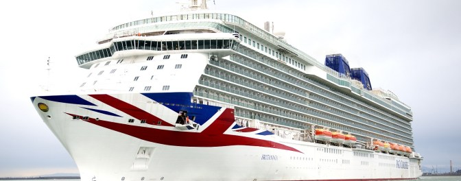 My first cruise: a week on P&O's new luxury ship, Britannia
