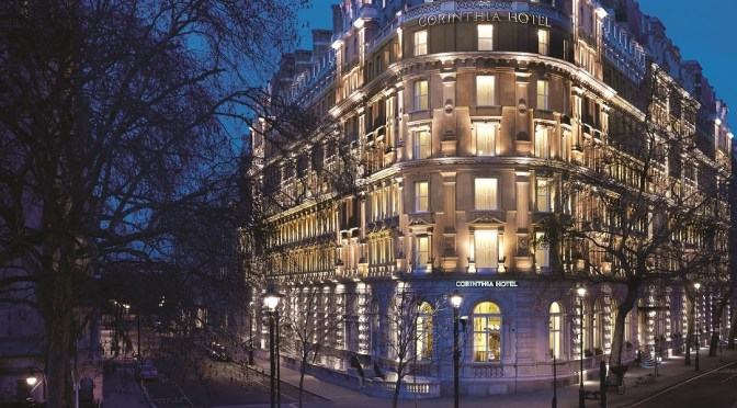 Luxury on a grand scale at the five star Corinthia Hotel London