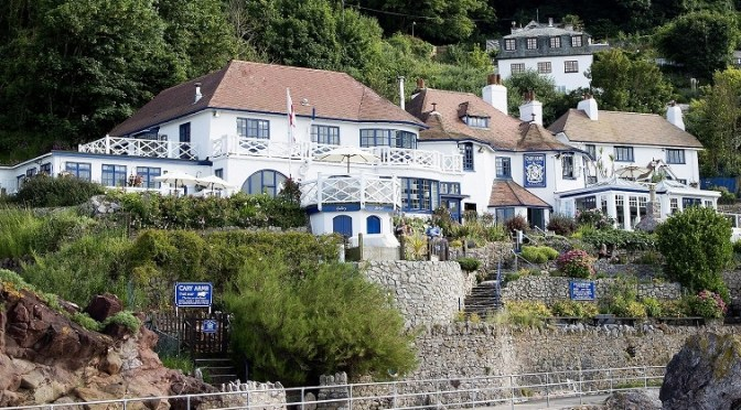 A romantic seaside stay in a beach suite at Cary Arms and Spa hotel, Devon