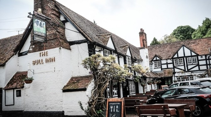 The Bull at Sonning: a perfect example of a great British pub