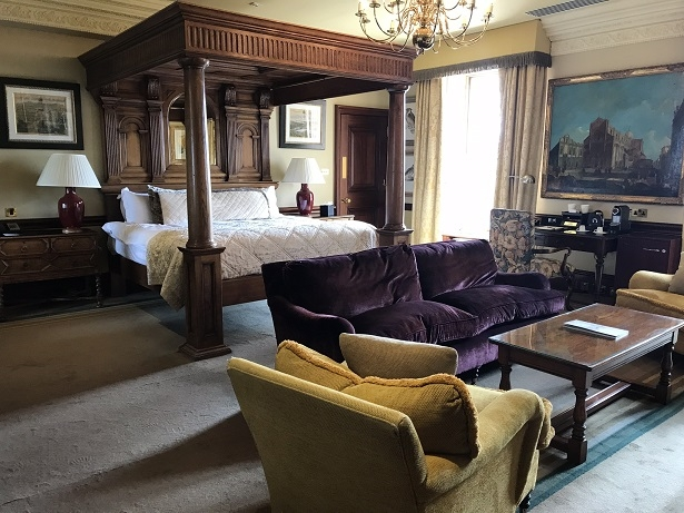 stay at Stoke Park luxury hotel Pennsylvania suite
