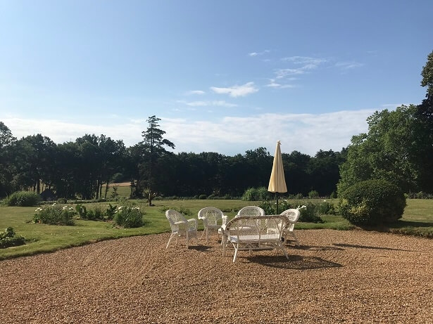 stay in a chateau in France at La Groirie