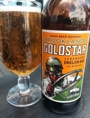 drink of Brooklands Goldstar from the nearby Hogs Back Brewery