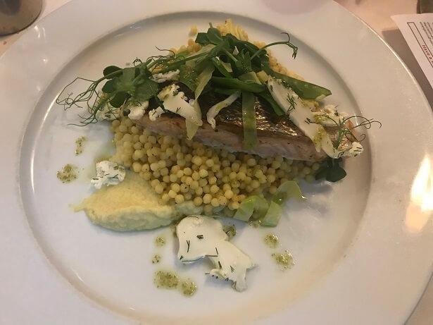 healthy food at Ragdale Hall spa