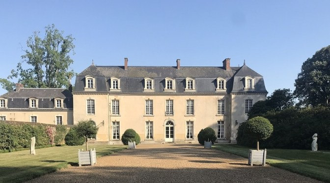 My stay in a chateau in France: relaxing in Le Mans at La Groirie chateau
